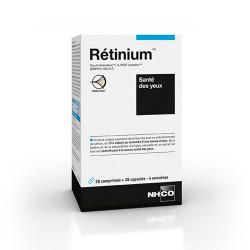 NHCO RETINIUM 28 COMPRIMES + 28 CAPSULES SANTE DES YEUX