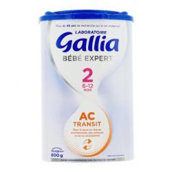 Gallia Bébé Expert AC transit lait 2ème âge 800 g