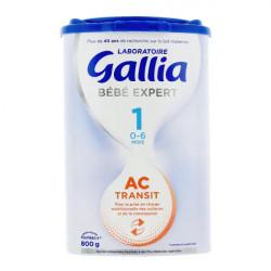 Gallia Bébé Expert AC transit Lait 1er âge 800 g