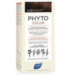 Phyto Phytocolor Kit coloration permanente 5.35 châtain clair chocolat