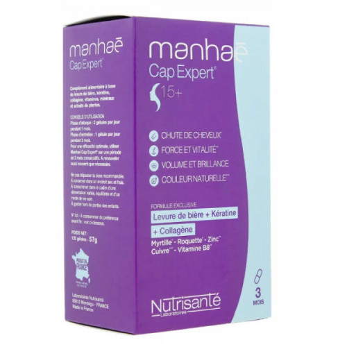 Manhaé Cap Expert 120 gélules