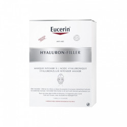Eucerin Hyaluron-Filler Masque Intensif à l'Acide Hyaluronique 4 Masques