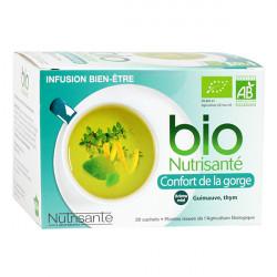 Bio Nutrisanté Infusion Confort de la Gorge 20 Sachets