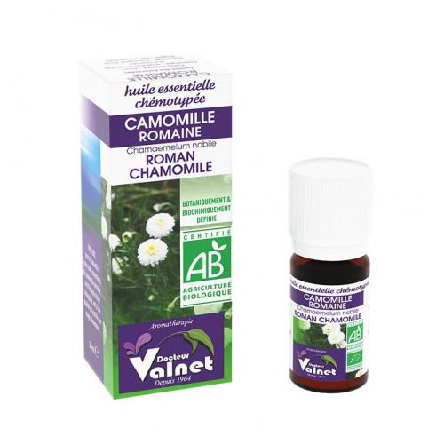 Docteur Valnet Huile Essentielle Camomille Romaine Bio 5ml