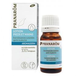 Pranarom Aromaderm Lotion Pieds & mains Bio 10 ml