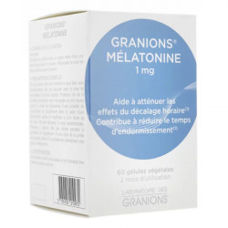 Granions mélatonine 1mg 60 gélules