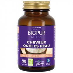 Biopur Active Cheveux Ongles Peau 90 Gélules