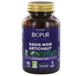 Biopur Active Radis Noir Artichaut 90 Gélules