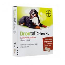 Bayer Drontal XL Pour Chiens 2 Comprimés