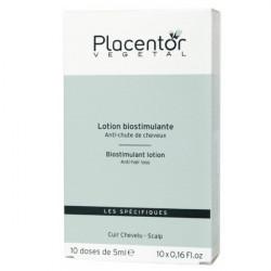 Placentor Végétal Lotion Biostimulante Anti-Chute de Cheveux 10 Doses x 5 ml