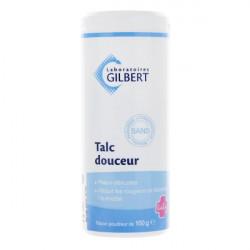Gilbert talc douceur poudre 100g