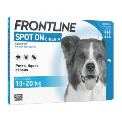 Frontline Spot on chien de 10-20 kg 6 pipettes