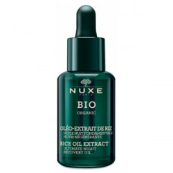 Nuxe Bio Organic Huile Nuit Fondamentale Nutri-Régénérante 30 ml