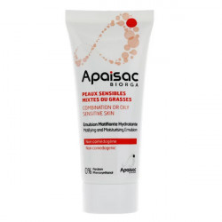 Apaisac émulsion matifiante hydratante 40 ml