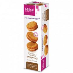 MILICAL Biscuits fourrés saveur café 12 biscuits