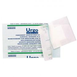URGOSTERILE Pansement adhésif stérile, hypoallergénique, adhésif 4 côtés 15x9cmBoîte/10
