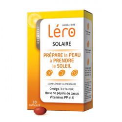 Léro Solaire Prépare la Peau à Prendre le Soleil 30 Capsules