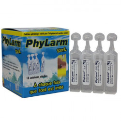 PHYLARM 0,9% Solution oculaire irrigation 16Unidoses/10ml
