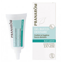 Pranarôm Buccarom Gel bucco-dentaire 15 ml