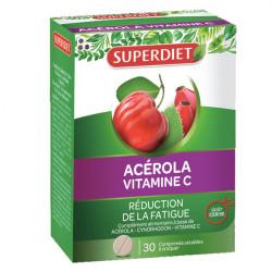 Super Diet Acérola Vitamine C 30 Comprimés
