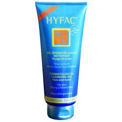 HYFAC Gel dermatologique nettoyant visage & corps, 300 ml