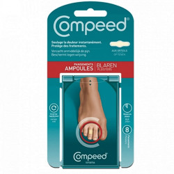 Compeed ampoules orteils 8 pansements
