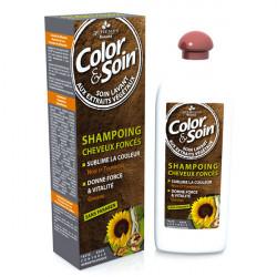 3 Chênes Color & Soin Shampoing Spécifique Cheveux Colorés Foncés 250ml