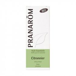 Pranarôm Huile Essentielle Citronnier Bio 10 ml