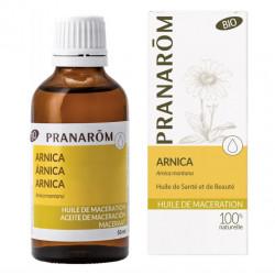 Pranarôm Huile de Macération Arnica Bio 50 ml