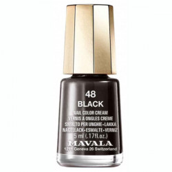 Mavala Mini Color Vernis à Ongles Crème Black 5 ml