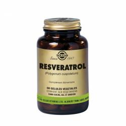 Solgar Resveratrol 60 Gélules Végétales