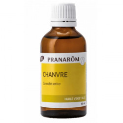 Pranarom Huile Végétale De Chanvre Bio 50 ml