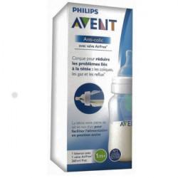 Avent Anti-Colic Valve AirFree Biberon 260 ml 1 Mois et +