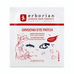 Erborian Ginseng Masque Tissu Soin Yeux 5 g