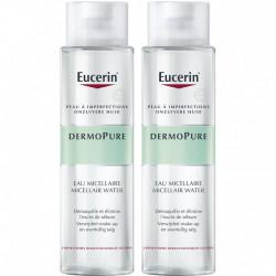 Eucerin DermoPure Eau Micellaire Lot de 2 x 400 ml