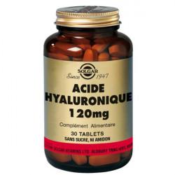 Solgar Acide Hyaluronique 120 mg 30 Comprimés