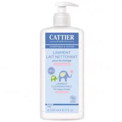Cattier Bébé Gel Lavant Doux Hypoallergénique 500 ml