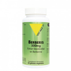 VIT'ALL + BERBERIS 60 GELULES 500MG