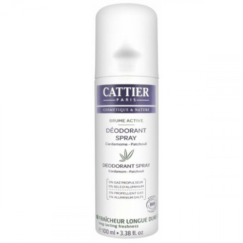 Cattier Brume Active déodorant spray 100ml