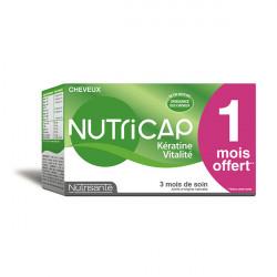 Nutrisanté Nutricap Kératine Vitalité Programme de 3 Mois dont 1 Mois Offert