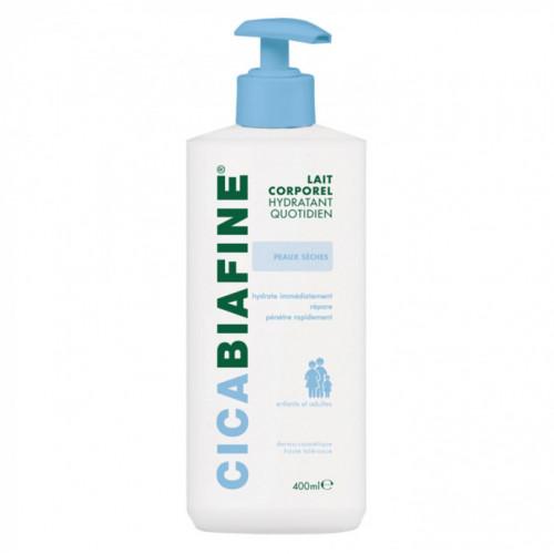 Biafine Cicabiafine Lait hydratant corporel quotidien 400ml