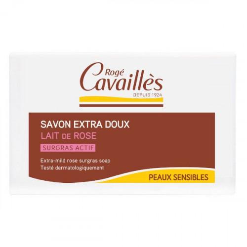Rogé Cavaillès Savon Surgras Extra Doux Lait de Rose 150 g