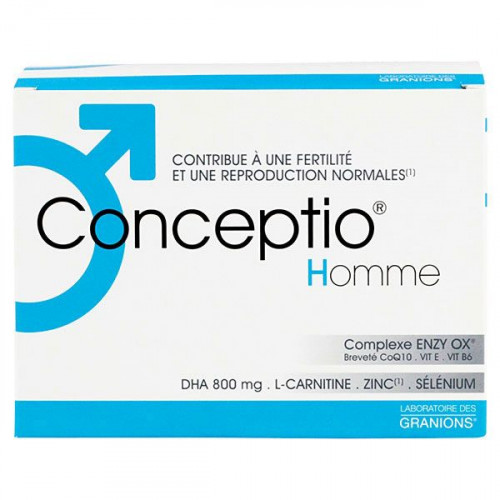 CONCEPTIO HOMME Pdr + capsule 30Sach+90