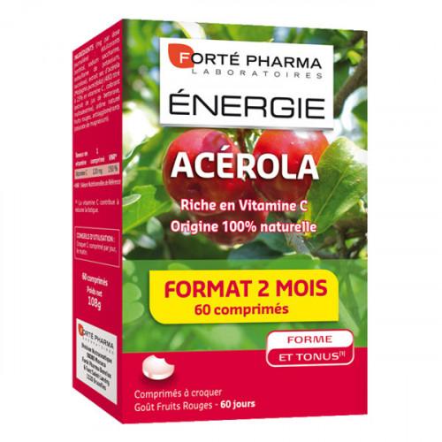 Forté Pharma Energie Acérola 60 Comprimés