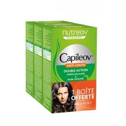 Nutreov Capileov Anti-Chute Double Action Lot 3 x 30 Gélules