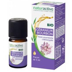 Naturactive Huile Essentielle Géranium Bourbon Bio 5 ml