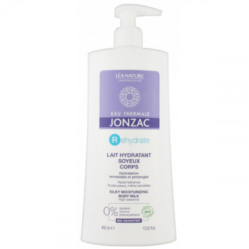 Eau de Jonzac Rehydrate Lait Hydratant Soyeux Corps Bio 400 ml