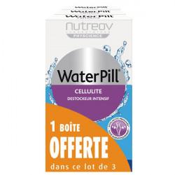 Nutreov Water Pill Cellulite 20 Comprimés, lot de 3 dont 1 Bôte Offerte