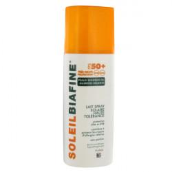 Biafine SoleilBiafine Lait Spray Solaire FPS 50+ Peaux Sensibles 200 ml