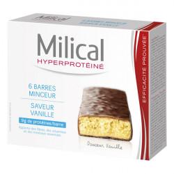 MILICAL Barres Minceur Vanille, 6 barres